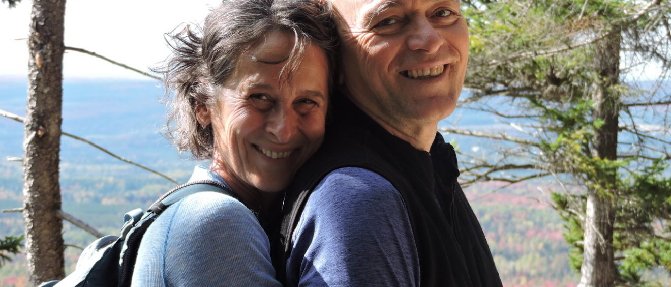 Celine et Camil, couple artisans